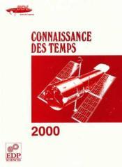 Connaissance Des Temps 2000 - Couverture - Format classique