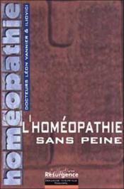 Homeopathie Sans Peine - Couverture - Format classique