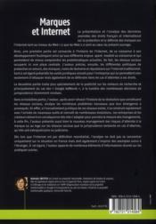 Marques Et Internet. Protection, Valorisation, Defense - 4ème de couverture - Format classique