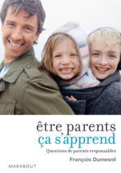 Être parents ça s'apprend - Couverture - Format classique