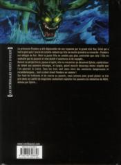 Pandora ; intégrale - 4ème de couverture - Format classique