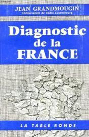Diagnostic De La France - Couverture - Format classique