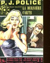 P.J. Police - La Derniere Carte - N°2 - Couverture - Format classique