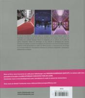 Architecture d'expositions - 4ème de couverture - Format classique