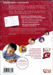 Cahiers d'exercices bien lire et aimer lire - 4ème de couverture - Format classique