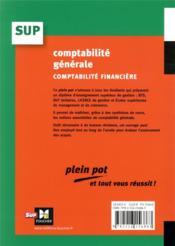 Comptabilité générale (14e édition) - 4ème de couverture - Format classique