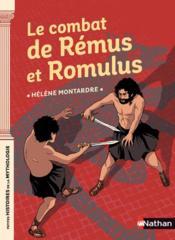 Le combat de Rémus et Romulus - Couverture - Format classique