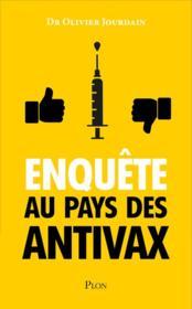 Enquête au pays des antivax - Couverture - Format classique
