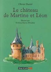 Le chateau de martine et leon - Couverture - Format classique