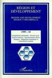 Region Et Developpement T.10 - Couverture - Format classique