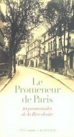 Promenades parisiennes ; dix promenades de la rive droite - Intérieur - Format classique