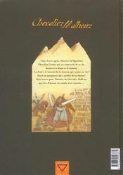 Chevalier Malheur T.1 ; La Chanson - 4ème de couverture - Format classique
