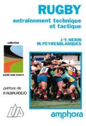 Rugby.Entrainement Technique Et Tactique - Couverture - Format classique