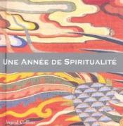 Une Annee De Spiritualite - Couverture - Format classique