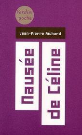 Nausée de Céline - Intérieur - Format classique