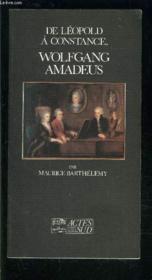 De leopold a constance wolfgang amadeus - Couverture - Format classique