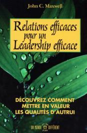 Relations efficaces leadership - Couverture - Format classique