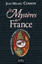 Les mystères de France - Couverture - Format classique