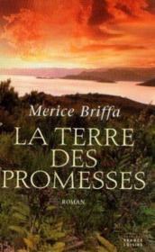 La terre des promesses - Couverture - Format classique