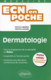 Dermatologie Tout Le Programme En Fiches L'Essentiel En Format Poche - Couverture - Format classique