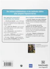 Philosophie ; terminales L, ES, S - 4ème de couverture - Format classique