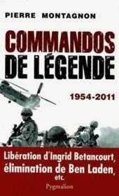 Commandos de légende - Couverture - Format classique
