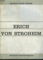 Erich Von Stroheim. - Couverture - Format classique