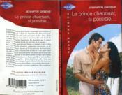 Le Prince Charmant Si Possible - Nobody'S Princess - Couverture - Format classique