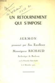 Un Retournement Qui S'Impose - Sermon - Couverture - Format classique