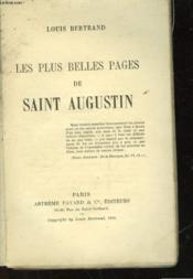 Les Plus Belles Pages De Saitn Augustin - Couverture - Format classique