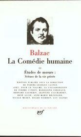 La comédie humaine t.2 - Intérieur - Format classique