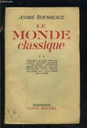 Le Monde Classique- Tome 2- 1 Seul Volume - Couverture - Format classique