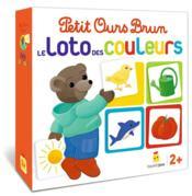 Jeu Petit Ours Brun ; le loto des couleurs - Couverture - Format classique