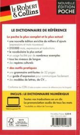 LE ROBERT & COLLINS ; POCHE ; dictionnaire allemand - 4ème de couverture - Format classique
