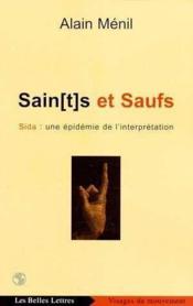 Sain(T)S Et Saufs:Sida Une Epidemie - Couverture - Format classique