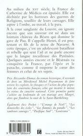 Henri Iv T.1 L'Enfant Roi De Navarre - 4ème de couverture - Format classique