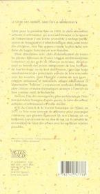 Le livre des arbres, arbustes et arbrisseaux - 4ème de couverture - Format classique
