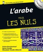 L'arabe pour les nuls - Couverture - Format classique