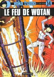 Yoko Tsuno T.14 ; le feu de Wotan - Intérieur - Format classique