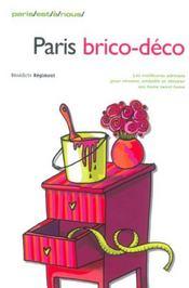 Paris Brico-Deco - Intérieur - Format classique