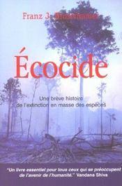 Ecocide - Intérieur - Format classique