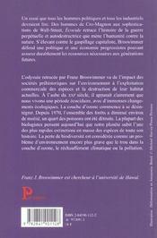 Ecocide - 4ème de couverture - Format classique