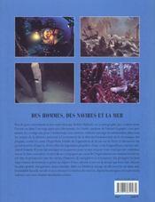 La grande aventure de l'exploration des oceans - 4ème de couverture - Format classique