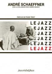 Le jazz - Couverture - Format classique