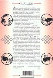 Zen - 4ème de couverture - Format classique