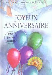 Joyeux Anniversaire Pour Jeunes Adultes Exley H