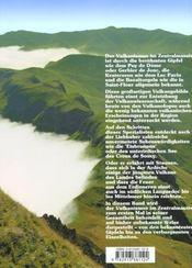 Beruhmte und weniger bekannte vulkane im zentralmassiv - 4ème de couverture - Format classique