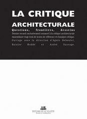La critique architecturale - Intérieur - Format classique