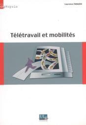 Télétravail et mobilités - Couverture - Format classique