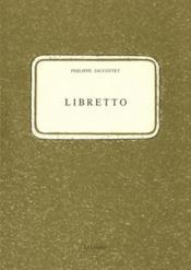 Libretto - Couverture - Format classique